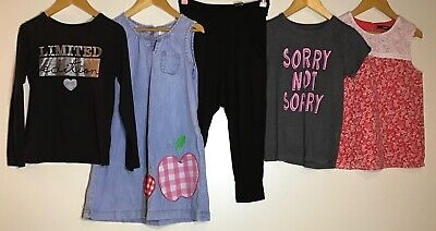 Girls Bundle 9-10 Mini Boden H&M Primark George <H9044