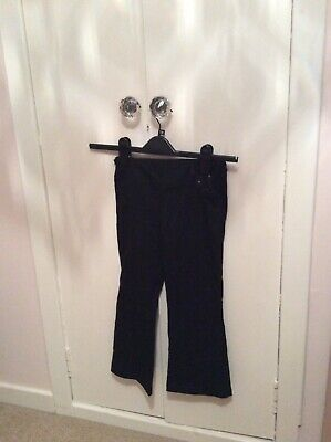 Next Girls School Trousers.   Black.  Age 6