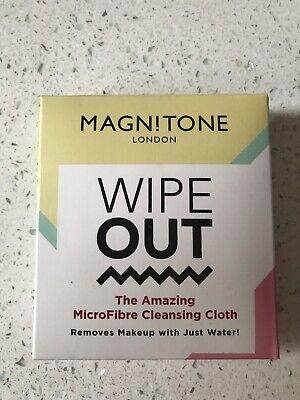 Magnitone Wipe Out-Microfibre Cleansing Cloth-Make up Removal