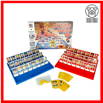 Guess Who Board Game MB Games Vintage Edition Dated 1993 Family Fun Retro Games