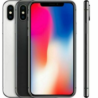 Apple iPhone X  A1901 64GB  GSM Unlocked ALL COLORS A grade condition