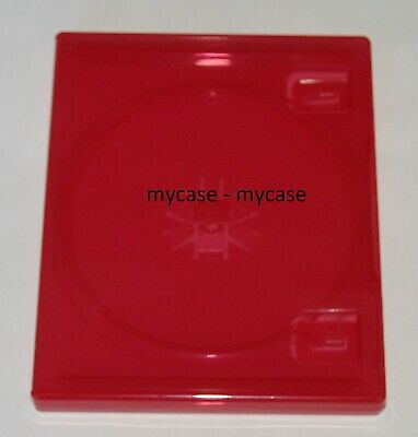 Original Sony PlayStation 4 PS4 Replacement Game Red Case - SELECT YOUR QUANTITY
