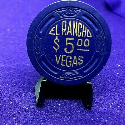 $5 EL RANCHO( WINDMILL)NO INS LARGE CROWN 8th ISS HS R7 SU LOW BOOK $300.00