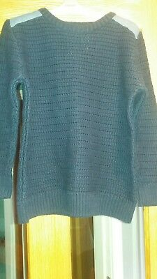 Boys Navy Jumper/sweater Age 10 Years. immaculate