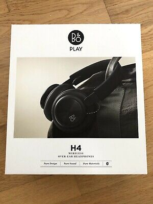 Bang & Olufsen Beoplay H4 Wireless Bluetooth Over-Ear Headphones, Black - New