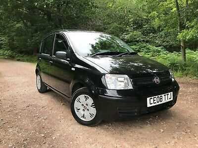 2008-08-Fiat Panda 1.2 Dynamic 5 Door Hatch 49,000 Miles Fsh Only 1 Former Owner