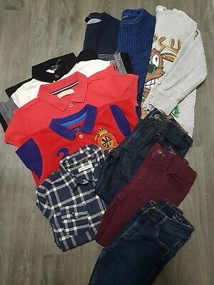 BOYS WINTER BUNDLE AGE 5-6 Years NEXT,JEANS,JUMPERS,SHIRTS,XMAS,OUTFIT,SMART