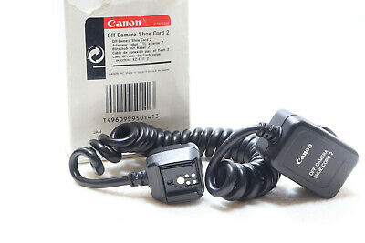 Canon Off Camera Shoe Cord 2 Full TTL Sync Cords -BB 363-
