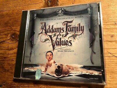 ADDAMS FAMILY VALUE (Marc Shaiman) OOP 1993 Score Soundtrack OST CD SEALED