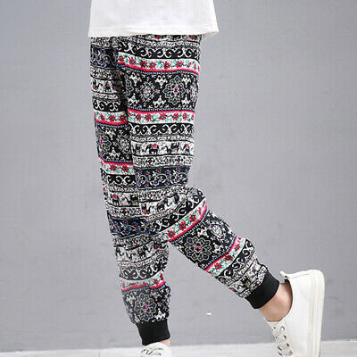 Kids Trousers Pants Toddlers Casual Trousers Fashion Camouflage Jogger