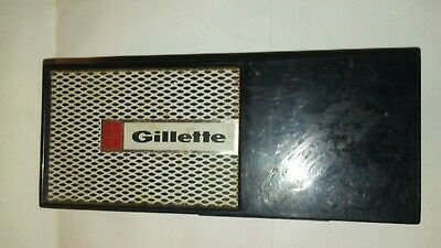 Vintage  Gillette Techmatic Old Type Open  Safety Razor