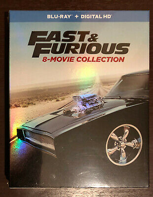 Fast & Furious: 8-Movie Collection (Blu-ray Set, No Digital)