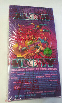 Unity Collectors Trading Cards  1992 Sealed Box Set Valiant