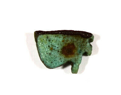 Egypt Late Period blue faience  Wedjat-eyes (Eyes of Horus)