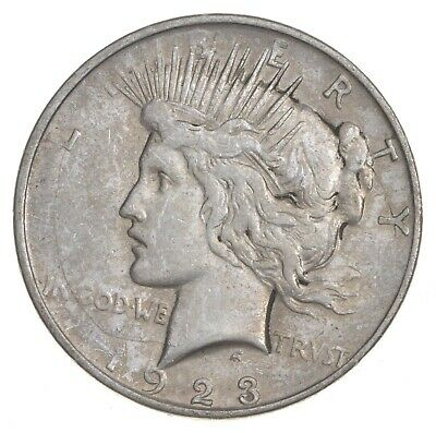 Early - 1923 - Peace Silver Dollar - 90% US Coin *026