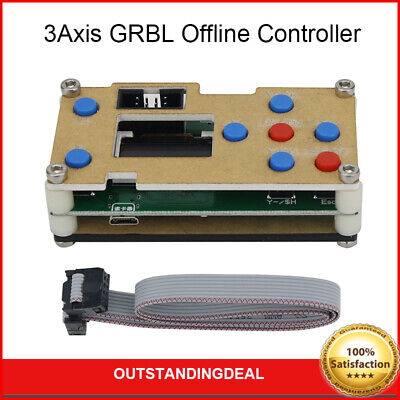3Axis GRBL Offline Controller CNC 1-Inch LCD Screen for 3-Axis CNC Engraver ot16