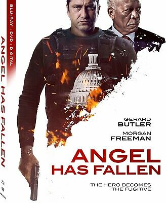 Angel Has Fallen - Blu-Ray Only in plain CD Case. No Original Cover/Case