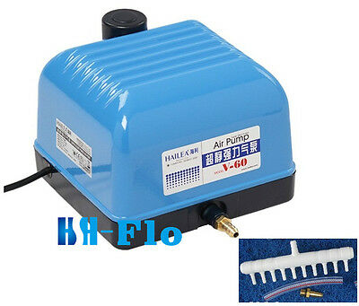 10/15/25/35W Commercial Magnetic Air Pump Hydroponic Aquarium Pond