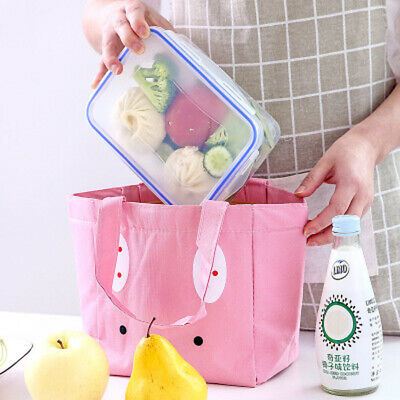 Lunch Bags Cooler Travel Bag Thermal Lunch Box Food Picnic  Storage Containers