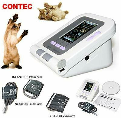 CONTEC08A-VET Veterinary Blood Pressure Monitor NIBP 3 Cuffs,Dog/Cat/Pets PC SW