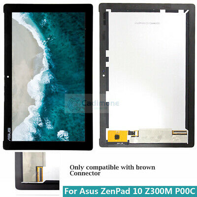Per Asus ZenPad 10 Z300M P00C LCD Display Touch Screen Digitizer Assembly  BT02