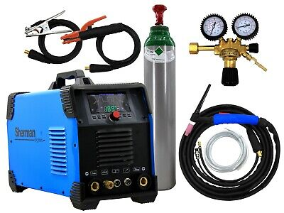 SET TIG Welder AC/DC Pulse 200AMP MULTIPRO SHERMAN welding machine Aluminium