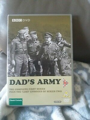 Dad's Army Complete 1st series plus the Lost episodes Series 2 DVD 2 disc set