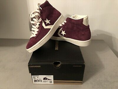 CONVERSE PRO LEATHER Mid Gr. 37 Bordeaux *NEU* EUR 8,50