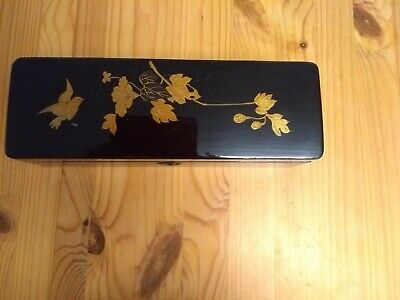 Victorian/Edwardian Japanese Lacquered  Glove Box