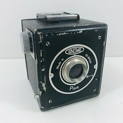 Gnome 'Pixie' Metal Box Camera From England