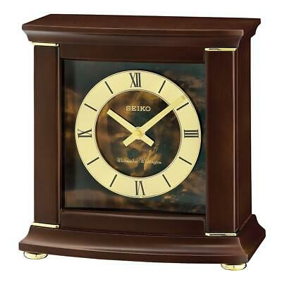 Seiko Westminister / Whittington Dual Chime Hourly Strike Mantel Alarm Clock