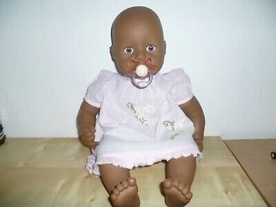 Baby Annabell Interactive Ethnic/Black Doll 2006