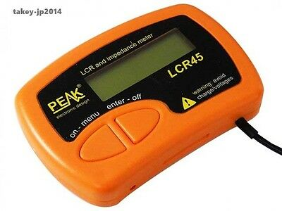 New Peak LCR45 LCR and Impedance Meter From Japan