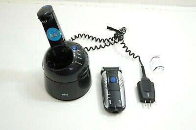Braun Syncro 7526 Type 5493 Shaver With Charger And Cleaner Station Hardly Used