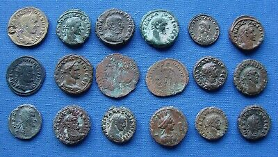 *NICE ASSORTED LOT OF VARIOUS ANCIENT ROMAN & GREEK COINS Lot #1 - ESTATE FRESH*
