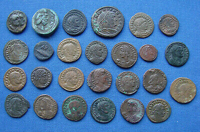 *NICE ASSORTED LOT OF VARIOUS ANCIENT ROMAN & GREEK COINS Lot #3 - ESTATE FRESH*