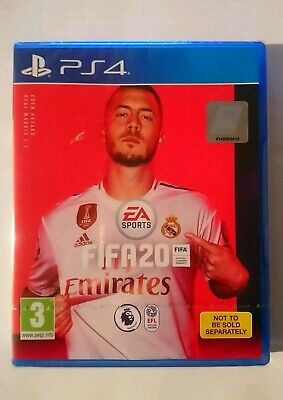 PS4 Playstation 4 Fifa 20 game (Authentic NEW. All sealed with original package)