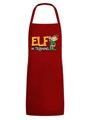Apron Elf in Training Red