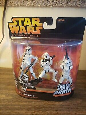 Hasbro Star Wars Revenge of the Sith 3-pack Clone Troopers Build Your Army #3