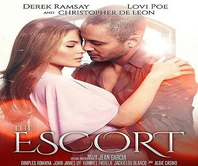 The Escort - Lovi Poe Derek Ramsay Tagalog Filipino Movie - New Realease Dvd