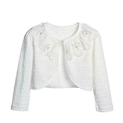 S-1978 White Light Weight Half Cardigan $9.99 (Shipping Free Now From Ohio)