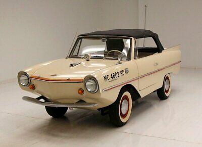 1964 Other Makes  1964 Amphicar Model 770 Beach Sand White/Triumph Herald 70ci Engine