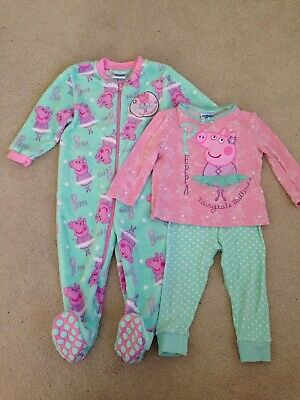 Peppa Pig Nightwear Bundle 12-18 Months