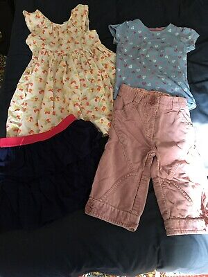 Bundle Of Girls Summer Clothes 3-4 Years Inc NEXT Mothercare