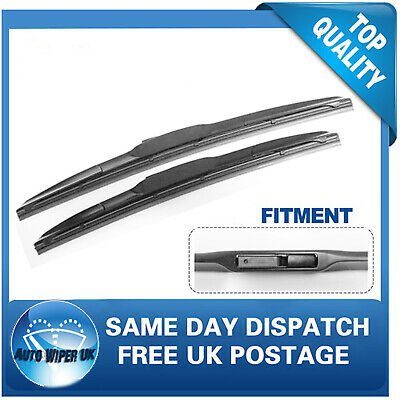 TYOTA HI-ACE Windscreen Wiper Blades x 2 Front Set Fits to REG 2000 to 2012