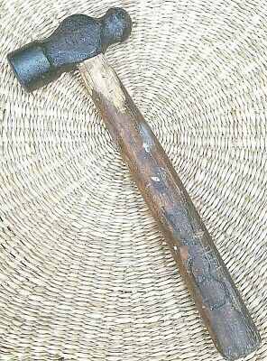 Vintage Very old BALL PEEN HAMMER,Hand Made,700 grams
