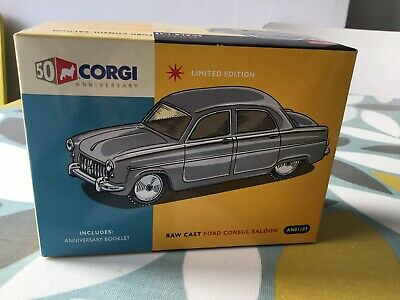 MIB! CORGI AN01103 RAW CAST FORD CONSUL SALOON 1//46