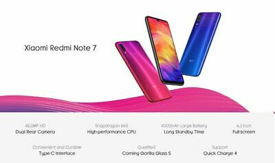 Xiaomi Redmi Note 7 128Gb Brand New Sealed Factory Unlocked Global Version