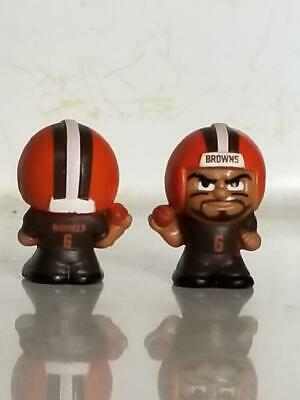NFL Teenymates series 8 Color Rush Baker Mayfield Cleveland Browns.