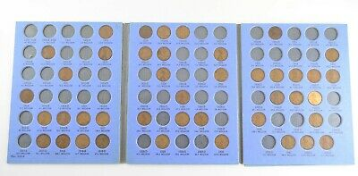Partial Set 1909-1940 Lincoln Wheat Cent Album - Early Dates Collection *756